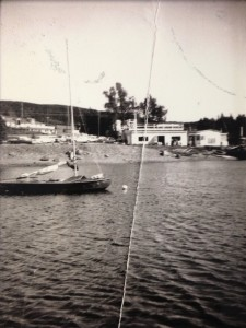 The TNYC clubhouse as it looked during the days of the Bowring Sailing Club. Date unknown.